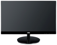 """23.0"""" AOC """"i2369Vm"""", Silver (IPS, 1920x1080, 6ms, 250cd, LED50M:1, D-Sub, HDMI, DP, Speakers) (23.0"""" AH-IPS LED, 1920x1080 Full-HD, 0.265mm, 6ms GTG, 250 cd/m², DCR 50 Mln:1 (1000:1), 178°/178° @C/R>10, Analog D-Sub + HDMIx2 + DisplayPort, Built-in speakers, Built-in PSU, Fixed Stand (Tilt -3/+21°), VESA Mount 75x75, Silver-Glossy Borderless)"""