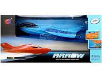 Лодка Р/У на воздушных крыльях 45X22X17cm