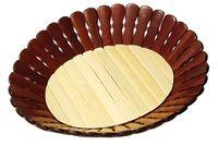 Хлебница деревянная двухцветная