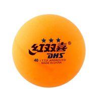 купить Мячи для настольного тенниса ITTF DHS - orange (1902) в Кишинёве