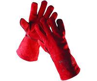 Reflex Перчатки для сварщика - красные краги
