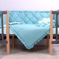 Veres Комплект для кроватки Macaroon Blueberry, 6 штк