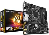 MB Gigabyte H370M DS3H 1.0 mATX