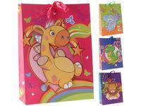 """Пакет для детских подарков """"Животное"""" 42X31X12сm"""