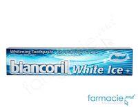 Pasta de dinti Biancoril White Ice 75 ml(spuma albastra)