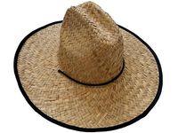 купить Шляпа соломенная D43cm в Кишинёве