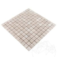 Мозаика Мраморная Капучино Античная 2,3 х 2,3 см
