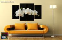 Орхидея 0001 -  Триптих  из 4 частей
