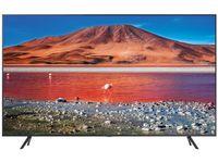 """50"""" LED TV Samsung UE50TU7170UXUA, Titan (3840x2160 UHD, SMART TV, PQI 2000Hz, DVB-T/T2/C/S2 (50"""" Titan, 3840x2160 UHD Smart TV (Tizen 5.5 OS), PQI 2000Hz, HDR10+, HLG, 2 HDMI, 1 USB, Wi-Fi, DVB-T/T2/C/S2, OSD Language: ENG, RO, RU, Speakers 2x10W Dolby Digital Plus, 11.6Kg )"""