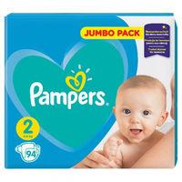 Pampers подгузники Jumbo 2, 3-6 kг, 94шт.