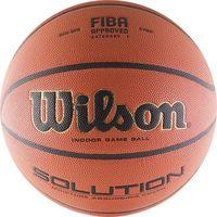 cumpără Minge baschet #7 Wilson SOLUTION FIBA BBALL B0616X (1041) în Chișinău