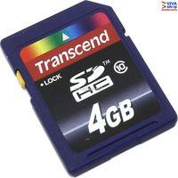 "4GB SDHC Card Transcend ""TS4GSDHC10"""