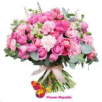 купить Букет «Розовый фламинго» в Кишинёве
