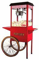 купить Машина для приготовления попкорна с тележкой HURAKAN HKN-PCORN-T, 620x540x1300 в Кишинёве