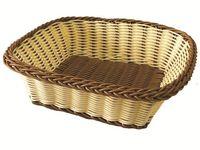 Корзинка для хлеба плетеная прямоугольная 24X15.5X7cm