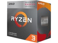 AMD Ryzen 3 3200G, Socket AM4, 3.6-4.0GHz (4C/4T), 4MB L3, Integrated Radeon Vega 8 Graphics, 12nm 65W, Box (with Wraith Stealth Cooler)