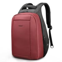 Рюкзак Tigernu T-B3599 с USB-портом и отделением для ноутбука 15.6, красный