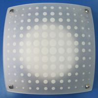 HF-MD7010 plafon patrat 2*E27 alb HF