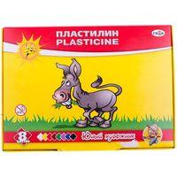 GAMMA Пластилин ГАММА Юный Художник 8 цв, 112гр, со стеком