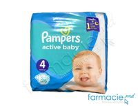 Scutece PAMPERS Active Baby 4 N25 ( 9-14 kg)