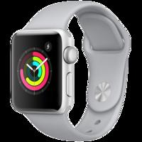 Apple Watch Series 3, 42mm, Silver Aluminium Case, Sport Band, Fog MQL02GKA