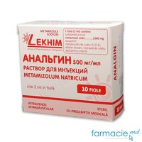 Analgina sol.inj. 50% 2ml N5x2 (Lekhim)