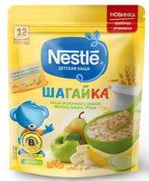 Nestle каша Шагайка мультизлаковая молочная с яблоко, груша и банан, 220гр