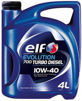 Моторное масло Elf Evolution 700 Turbo Diesel 10W-40 4L