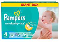 Pampers Active Baby Maxi 4 (7-14 кг.) 90 шт.