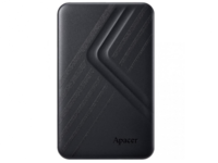 "2.0TB (USB3.1) 2.5"" Apacer AC236 Ultra-Slim Portable Hard Drive, Black (AP2TBAC236B-1)"