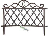Забор для сада/огорода декоративный 48Х36cm