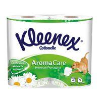 Hârtie igienică Kleenex Camomile, 4 role, 3 straturi