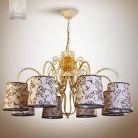 N&B Light Люстра Санта-Мария 14508-2 беж ветка, крем/золото