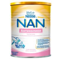 Nestle Nan Aнтиколики молочная смесь, 0+ мес. 400г