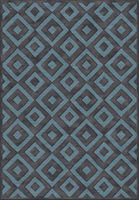 Ecofloor Farashe (470C482370) Labyrinth Dark Grey 1.60x2.30m