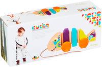 Cubika Деревянная игрушка каталка Рыбка