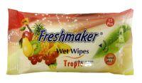 Салфетки влажные ECO Freshmaker  72шт.  с крышкой (фрукты)