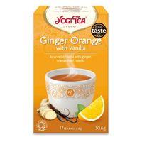 Bio чай с имбирем, апельсином и ванилью Yogi Tea