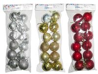 Набор шаров 12X50mm, в пакете