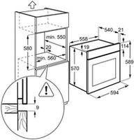 Электрический духовой шкаф Electrolux EZC2430EOX