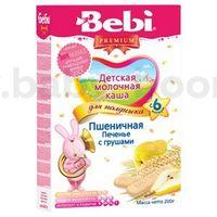 Bebi Пшеничная молочная каша Печенье с грушами 200gr.(6+)