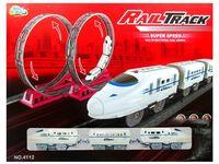 """Железная дорога и поезд """"CRH"""" 4112"""