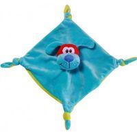 BabyOno игрушка велюровая с погремушкой Щенок непоседа