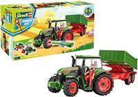 Сборная модель Трактор с прицепом, код 43863
