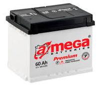 Аккумулятор A-Mega Premium 60Ah 600A