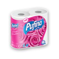 Pufina бумажные полотенца, 2 рулона,  2 слоя