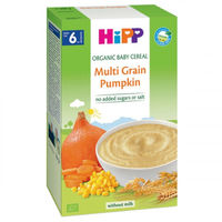 Hipp каша мультизлаковая органическая безмолочная с тыквой, 6+мес. 200г