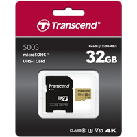 Карта памяти MicroSD Transcend TS32GUSD500S