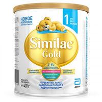 Similac Gold 1 молочная смесь, 0-6мес. 400 г