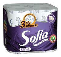 Hârtie igienică SOFIA 3 str. 18.2m*8 Aroma violet